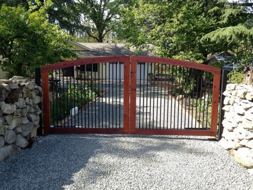 Automatic house gate_RenoQuotes.com