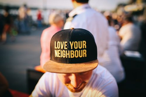Hat love your neighbour