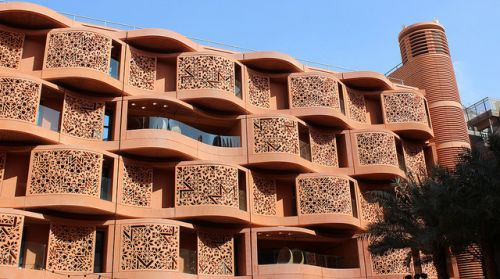 Architecture originale_Masdar city Abu Dhabi_Soumission Rénovation